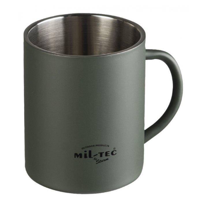 Ισοθερμική κούπα Mil-Tec Insulated Mug 450ml χακί