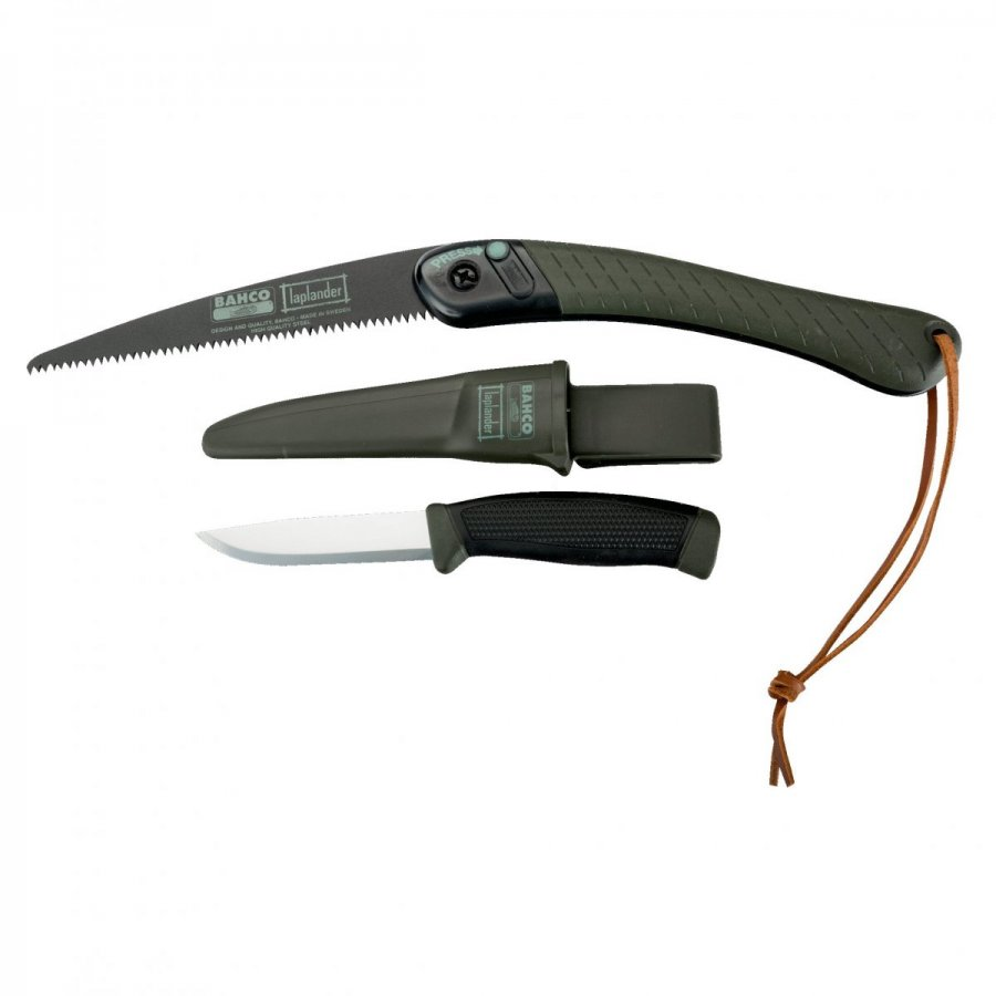 Σετ Bahco Lap-Knife πτυσσόμενο πριόνι και μαχαίρι scandi