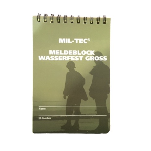 Μπλοκ σημειώσεων Mil-Tec αδιάβροχο
