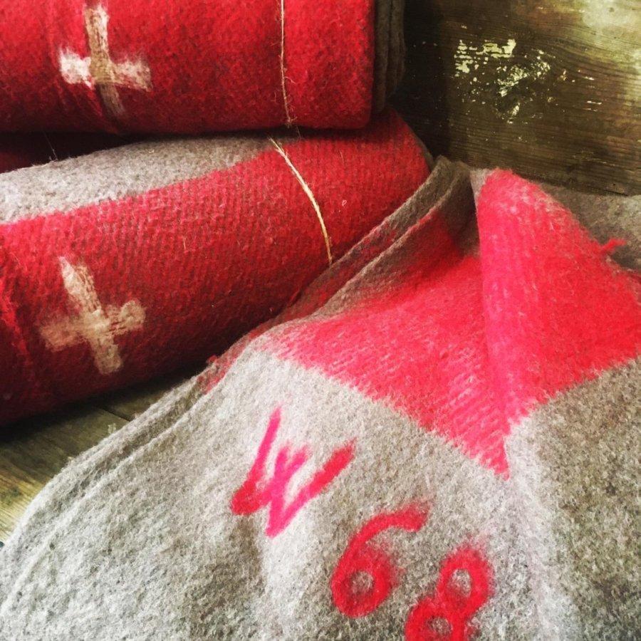 Ελβετική στρατιωτική κουβέρτα
