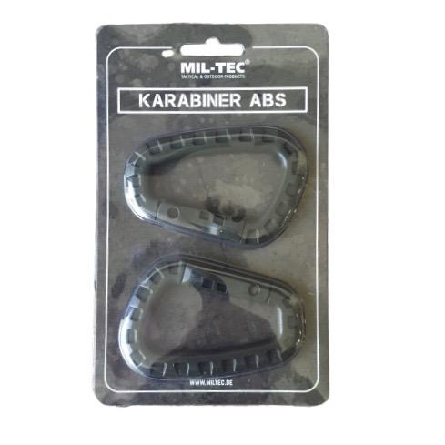 Καραμπίνερ κρίκοι ABS Mil-Tec 2 τμχ