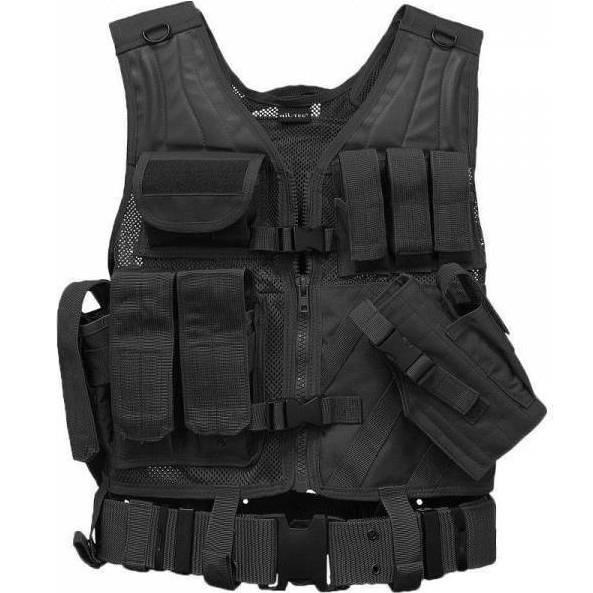 Mil-Tec Γιλέκο μάχης Combat vest μαύρο