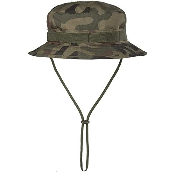 Καπέλο Τύπου Jungle CPU Hat Polycotton Ripstop PL Woodland