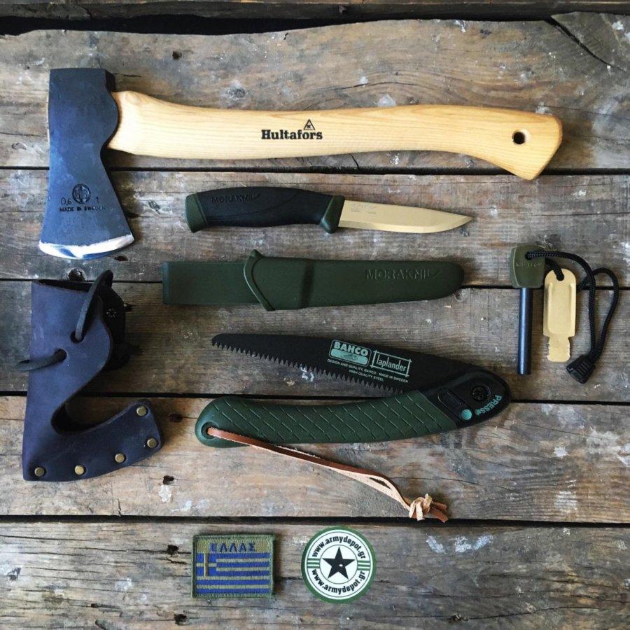 Συλλογή Bushcraft Ultimate + Δώρο μαχαίρι bahco