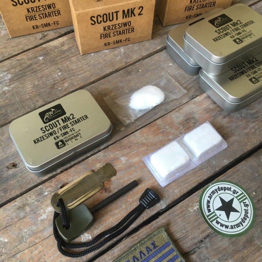 Συλλογή Ανάμματος φωτιάς Scout MK2 Firestarter