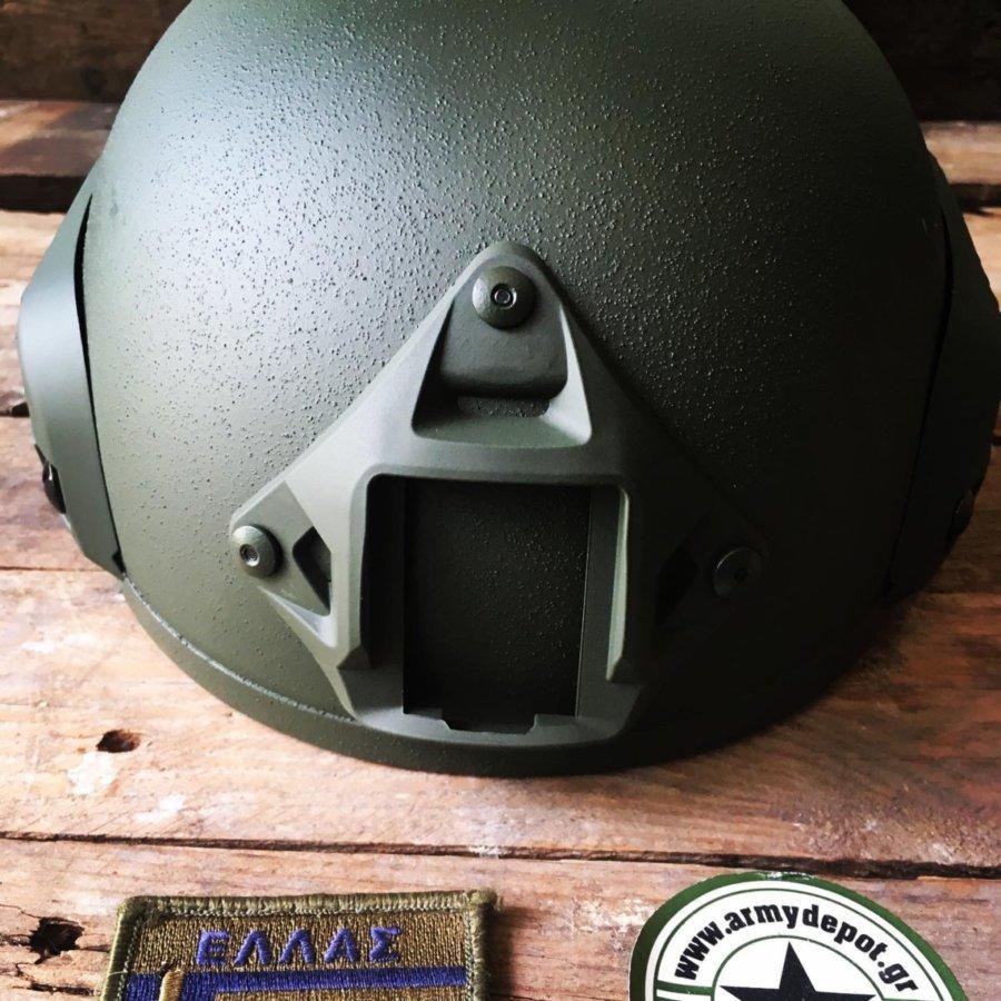 Κράνος Combat Rail ΜΕ 2001 Hi-Cut