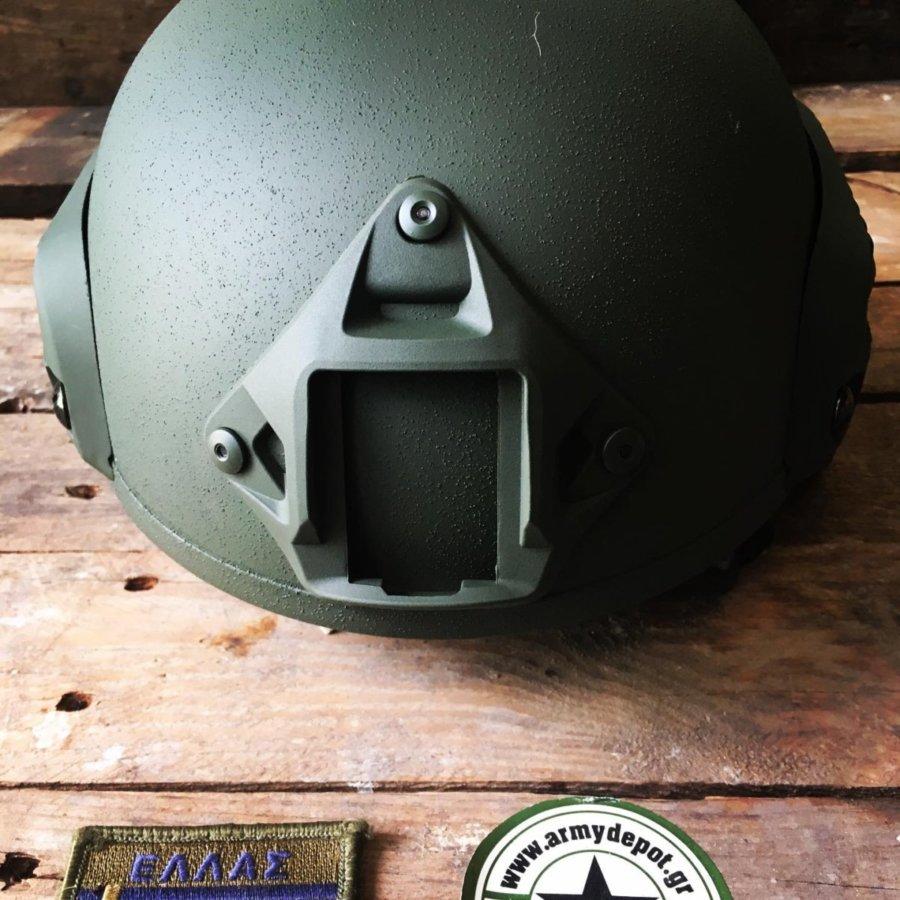Κράνος Combat Rail ΜΕ 2000