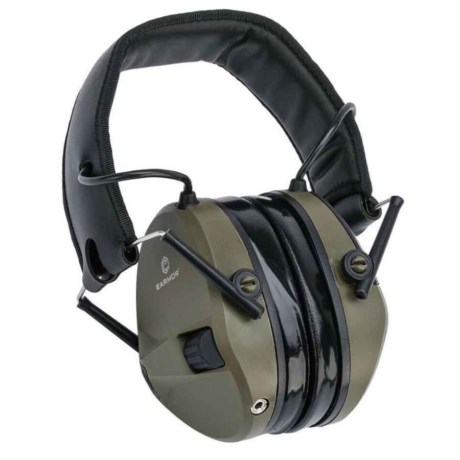 Ωτοασπίδες Ηλεκτρονικές EARMOR Μ30 Foliage Green