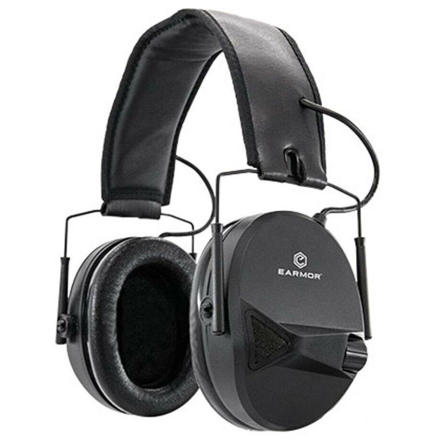 Ωτοασπίδες Ηλεκτρονικές EARMOR Μ30 Black