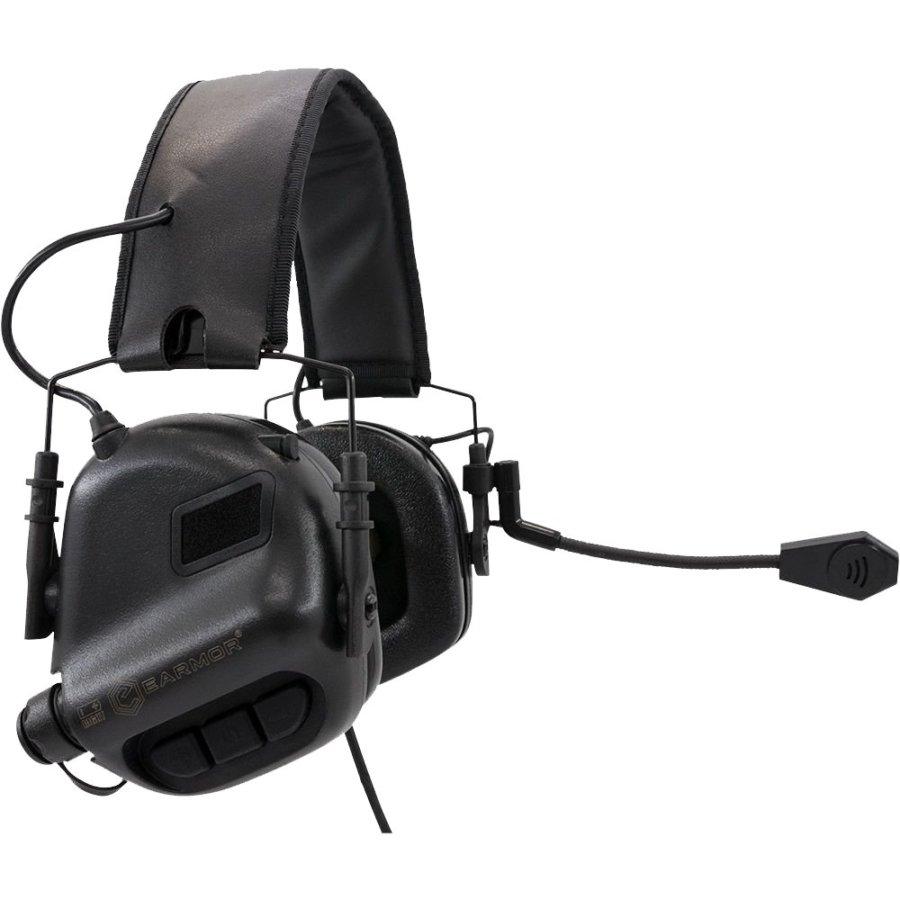 Ωτοασπίδες – Ακουστικά Επικοινωνίας EARMOR Μ32 Black