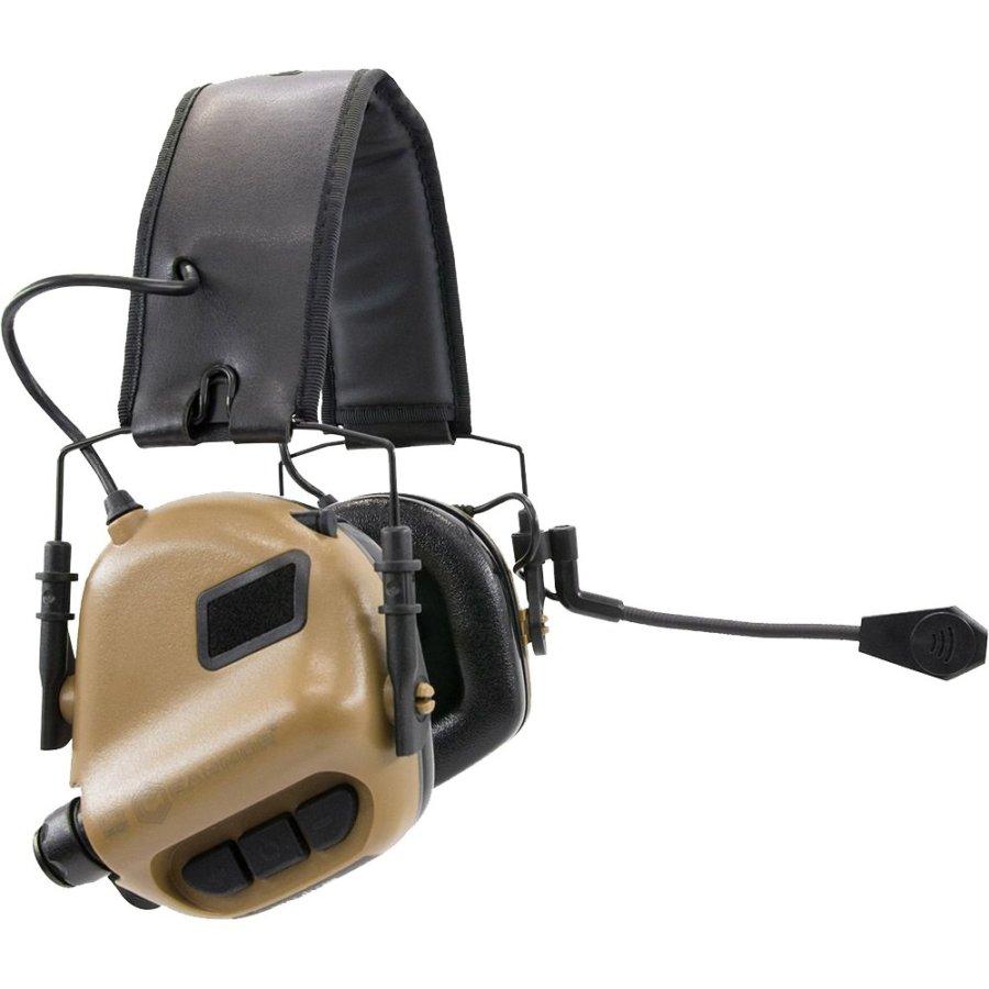 Ωτοασπίδες – Ακουστικά Επικοινωνίας EARMOR Μ32 Coyote Brown