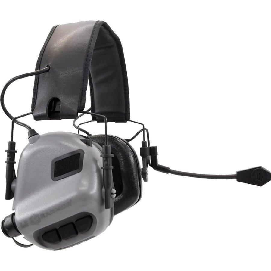 Ωτοασπίδες – Ακουστικά Επικοινωνίας EARMOR Μ32 Grey