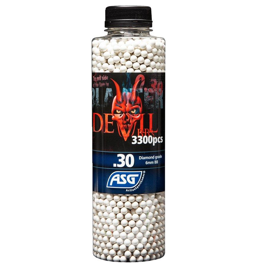 ΜΠΙΛΙΕΣ SOFT BLASTER DEVIL 0.30 gr / 3300 τμχ