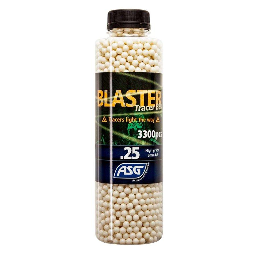ΜΠΙΛΙΕΣ SOFT BLASTER TRACER 0.25 gr / 3300 τμχ τροχειοδικτικές φωτεινές