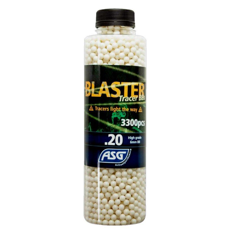 ΜΠΙΛΙΕΣ SOFT BLASTER TRACER 0,20 gr / 3300 τμχ τροχιοδεικτικές πράσινες