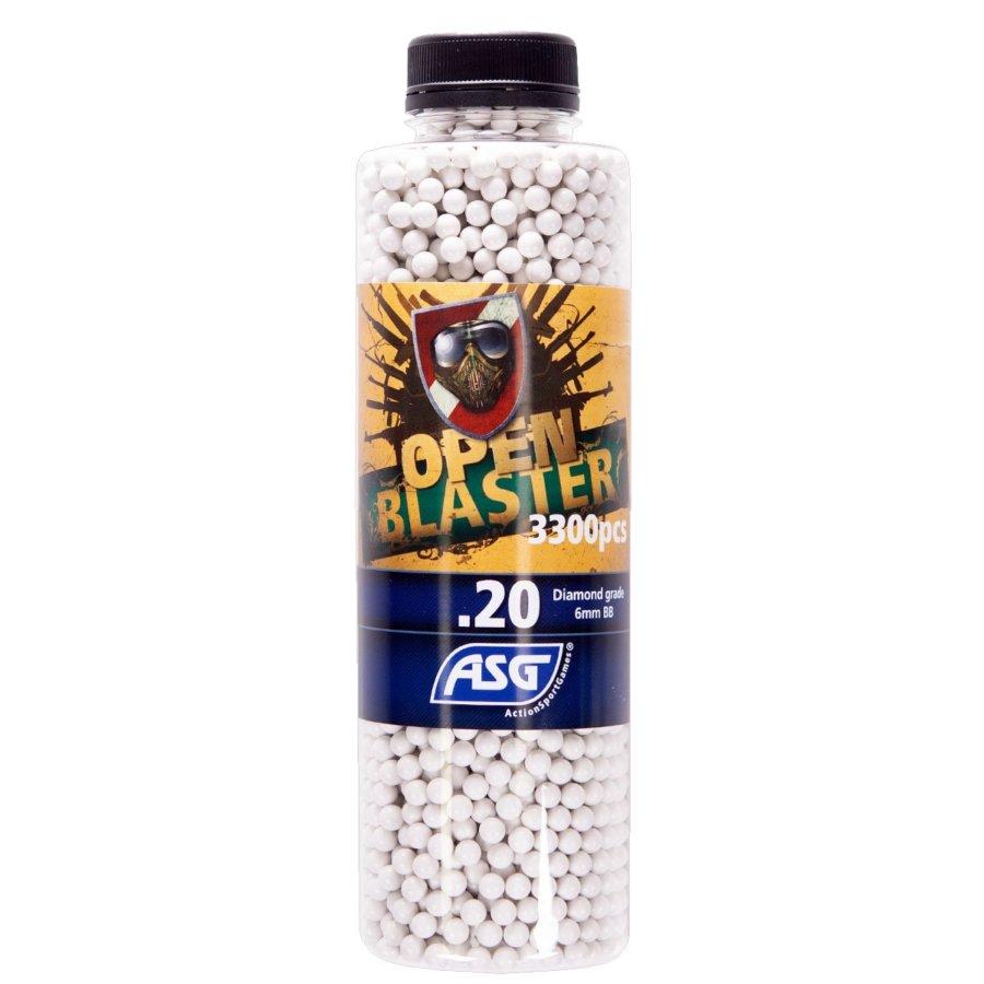 ΜΠΙΛΙΕΣ SOFT OPEN BLASTER 0.20 gr / 3300 τμχ