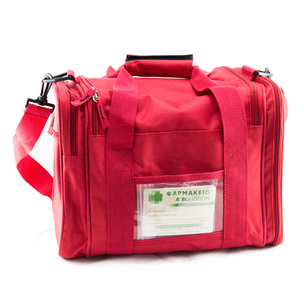 Φαρμακείο Α' Βοηθειών Εργασιακών Χώρων LARGE σε Τσάντα (Σύμφωνο με την Υ.Α.:32205/Δ.10.96/2.10.2013 ΦΕΚ Β΄ 2562)