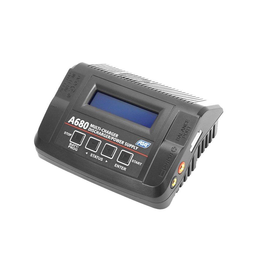 ΦΟΡΤΙΣΤΗΣ Soft, ASG A680 LiPo, LiFe, LiHV, Pb